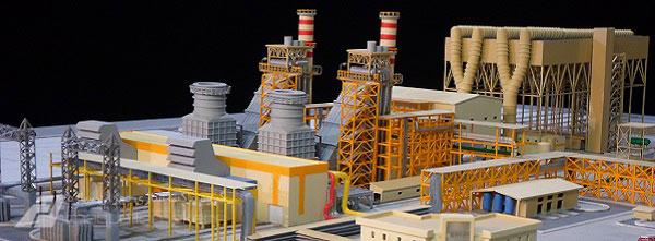 ماکت نیروگاه مپنا