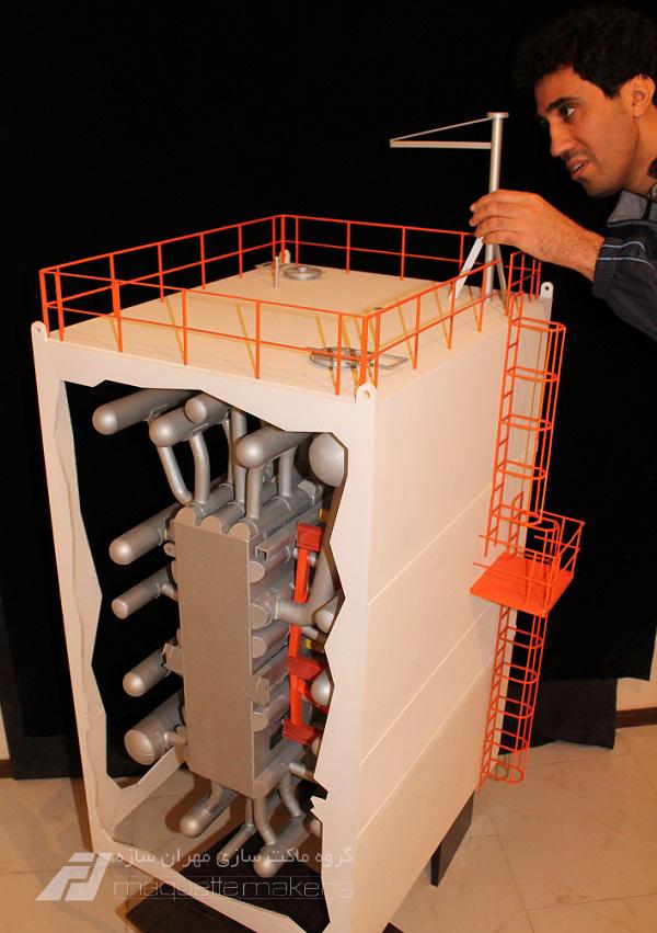 ساخت ماکت قطعه صنعتی